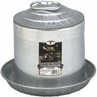 Poultry Waterer, Galvinized, 2 Gal.