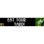 Eat Your Yard - Bumper Sticker