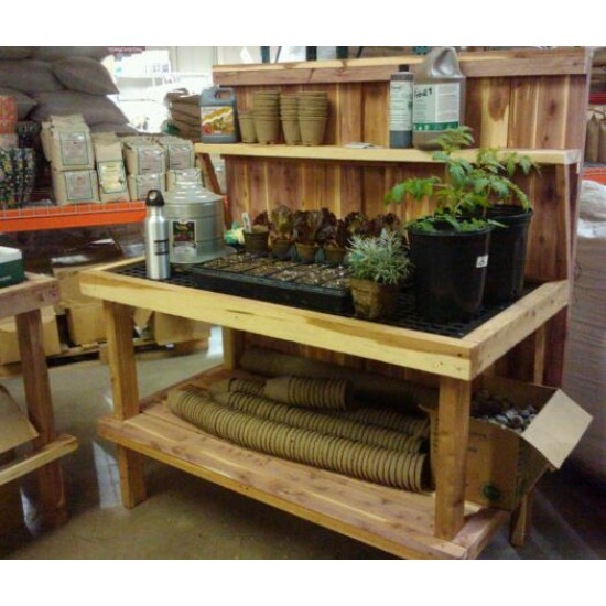 Potting Table, Cedar, Handmade, Base Model