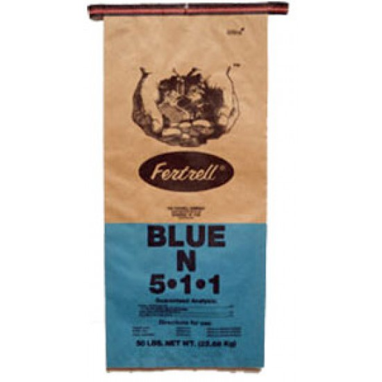 Fertrell Blue N 5-1-1 Organic Fertilizer,  50 lb.