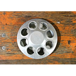 Chick Feeder, Round, 8 Hole, 6""