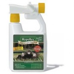 Repellex Mole & Gopher Repellant, Ready To Spray, 1 Qt.