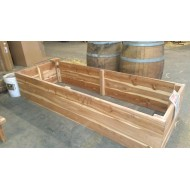Raised Garden Bed, Cedar, 8' x 3'