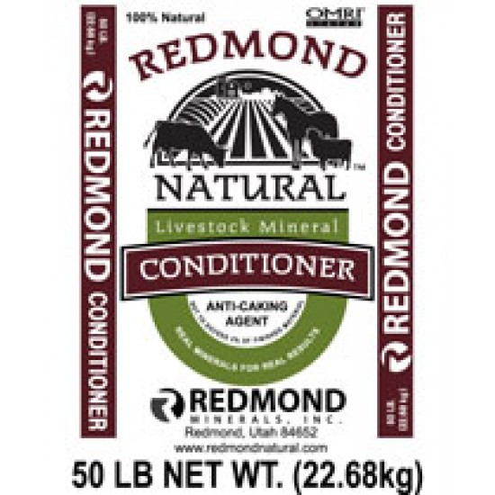 Redmond Conditioner, Organic, 50 lb.
