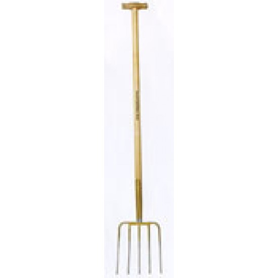 SHW Long Compost Fork - 5 Tines