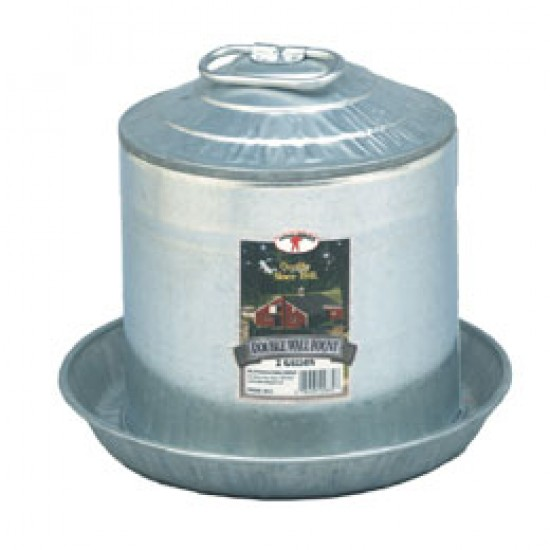Double Wall Poultry Waterer, 2 gal.